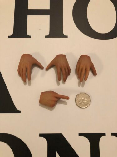 BLITZWAY Ghostbusters Venkman Hands x 4 loose 1//6th scale