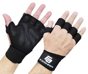 Fit-Active-Sports-Weight-Lifting-Gloves-For-Workout-Gym-Cross-Training-Pull-Ups