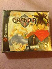 Grandia 2 Dreamcast Factory Sealed