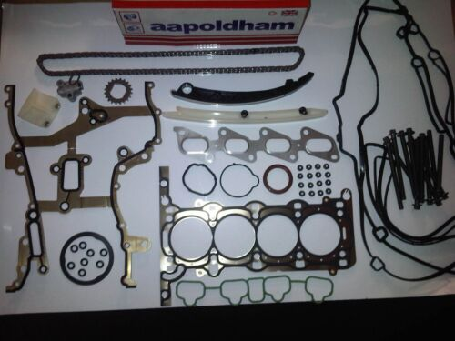 Joint de culasse SET OPEL MOKKA 1.4 A14NEL A14NET 2012-on Timing Chain Kit