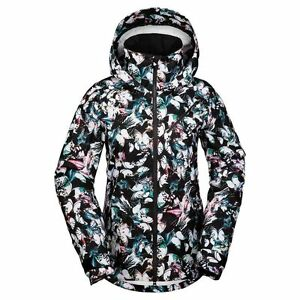 official new arrivals new lifestyle 2017 NWT Volcom Womens Hill 3L Gore Tex Jacket Snowboard S Small ...