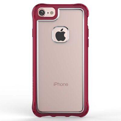 Ballistic JE1738-B44N Jewel Case for Apple iPhone 8/7/6S/6 - Clear/Burgundy