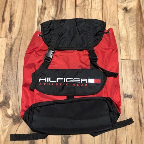 Vintage 90s Tommy Hilfiger Athletic Gear Backpack