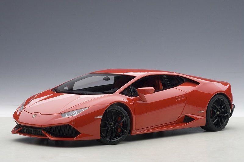 nuevo listado 1 18 Autoart Lamborghini Huracán Huracán LP610-4 rojo Mars Mars Mars Met. rojo  preferente