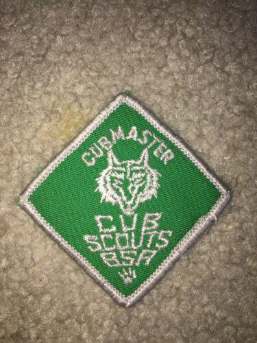 Boy Scout BSA Diamond Cub Cubmaster 1970-1972 Uniform Position Patch