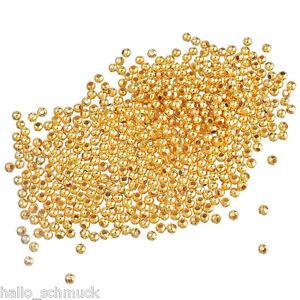 HS 500 Mix Rund Harz Spacer Perlen Beads 6mmD.