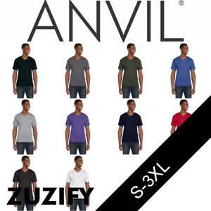 Anvil-Lightweight-Fashion-V-Neck-T-Shirt-982