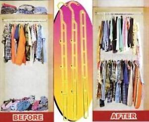 Xtra Closet Organizer Handy Trends Hanger Organize Adds