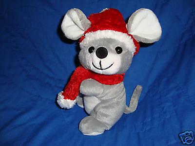 Sears 2001 Christmas Charity Plush Beanbag Stuffed Wishkers The Mouse