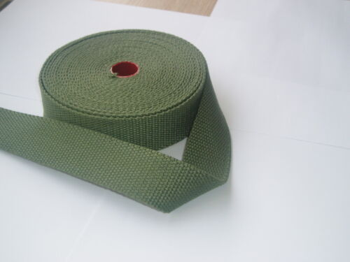 40mm Lourd en Toile Coton Ceinture Couleur Bande de Sangle//Mètres