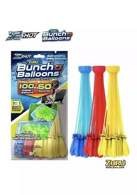 444 pcs 12 Bunch O Instant water Balloons,Self-Sealing,already tied