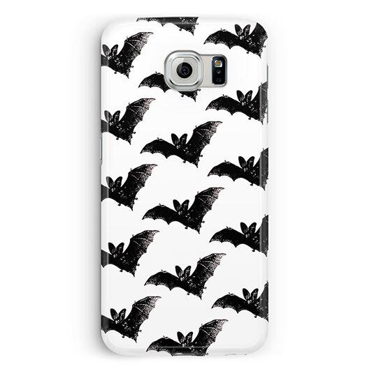 Case For Samsung Galaxy S5 S6 Bats Pastel Goth Grunge Cute Kawaii Halloween