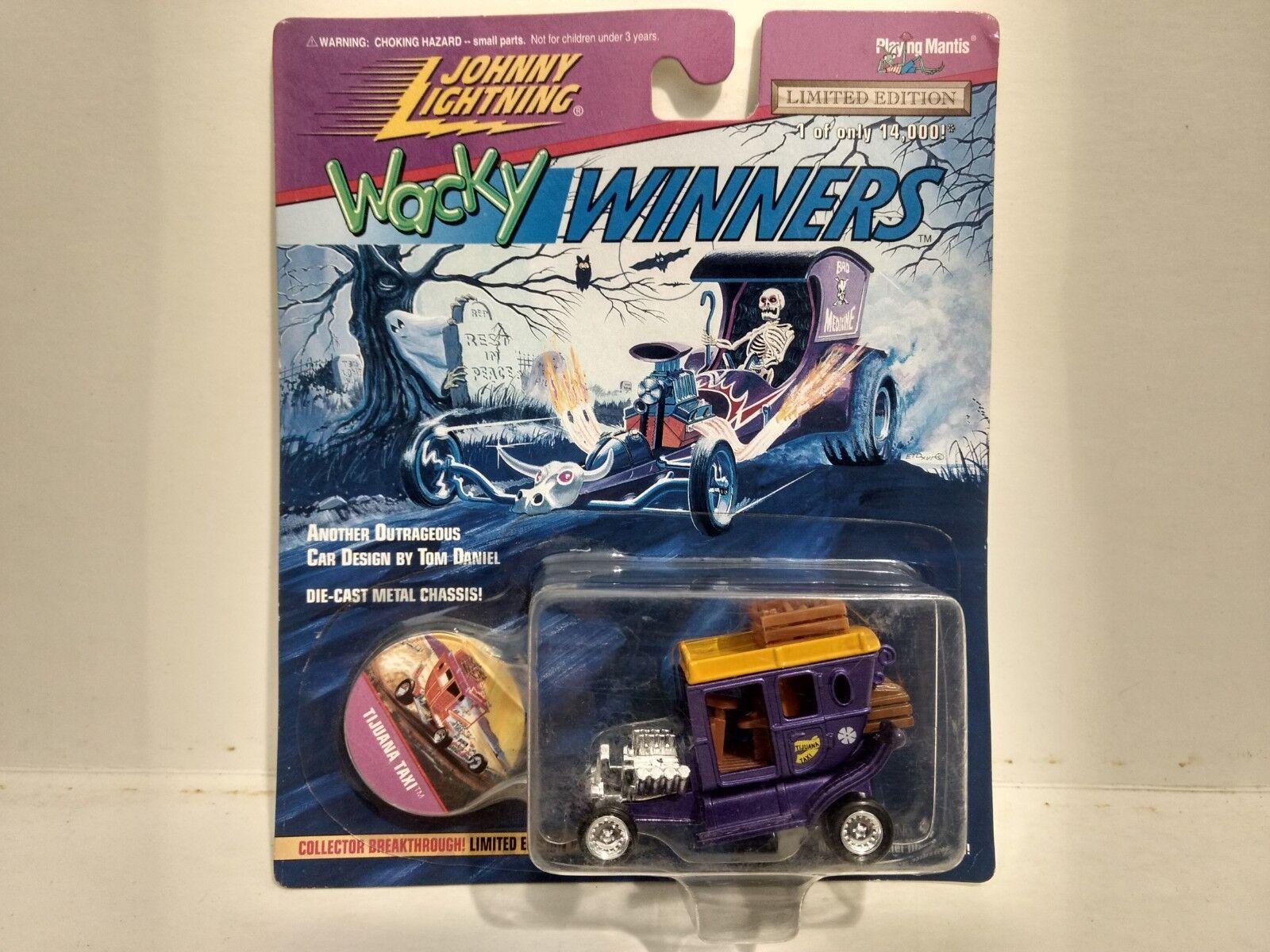 Johnny Lightning Délirant Délirant Délirant Gagnants Tijuana Taxi Violet 1:64 578e08