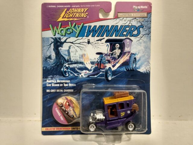 Johnny Lightning Wacky Winners Tijuana Taxi Purple 1:64 Scale Diecast mb619