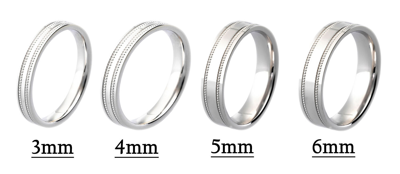 Platinum Wedding Ring Diamond Cut Patterned Flat Profile Hallmarked
