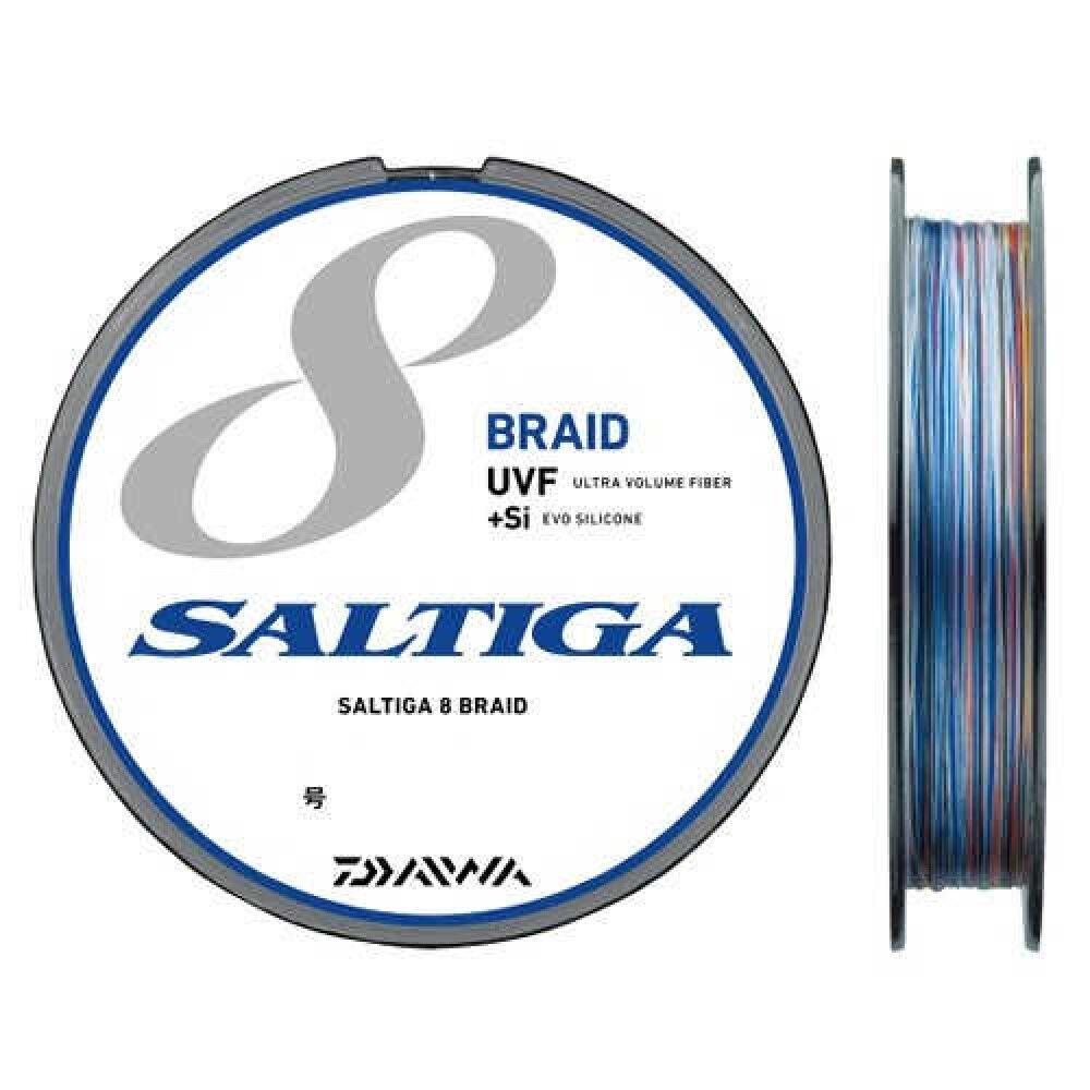 Daiwa Saltiga Sensor Polietileno Line 8 Trenza de fuerza si 600m  1.5 24lb Japón con seguimiento