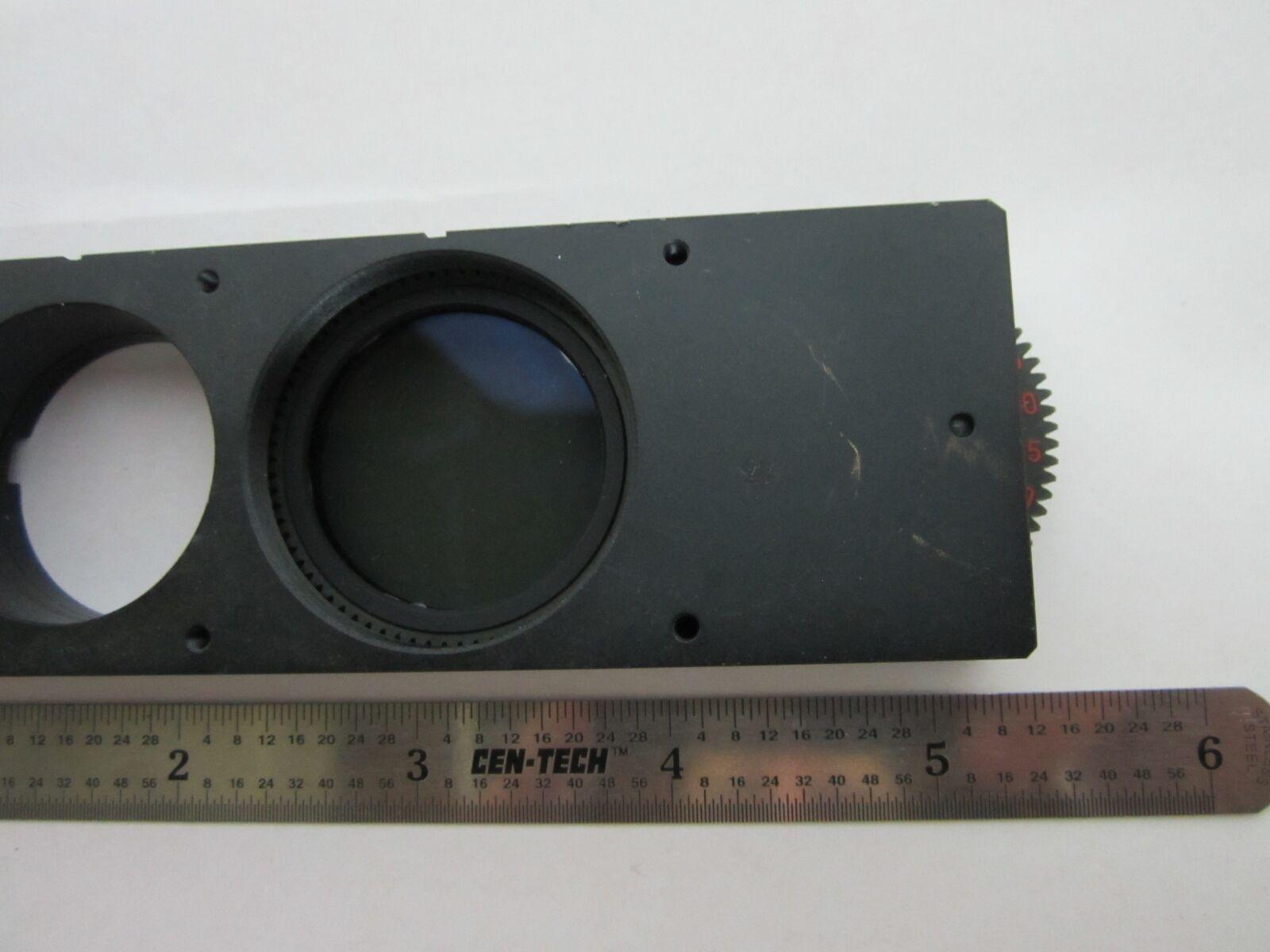 Microscopio Parte Polarizador Slide Alemania Alemania Slide 513650 Óptica Papelera B1-R-11 14de0b