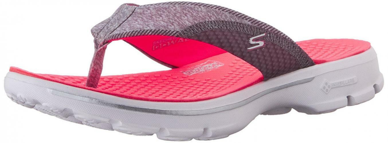 Skechers Pizazz Performance Damenschuhe Go Walk Pizazz Skechers Flip-Flop 0bfd3a