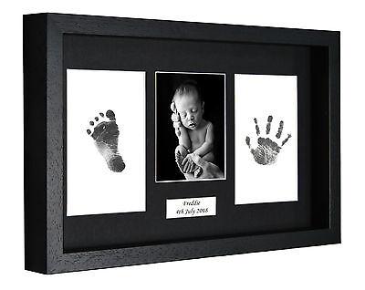 Personalied Impronta Piede Stampa 3d Kit Telaio Di Baby Shower Battesimo Regalo-mostra Il Titolo Originale