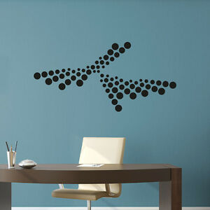 Wandtattoo-Abstrakt-Retro-Art-Punkte-Dots-Aufkleber-Wall-Art-Wand-Tattoo-2135