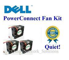 Quiet Dell PowerConnect 6224 Fan Kit (TK308, RN856), 3x Fans 18dBA each