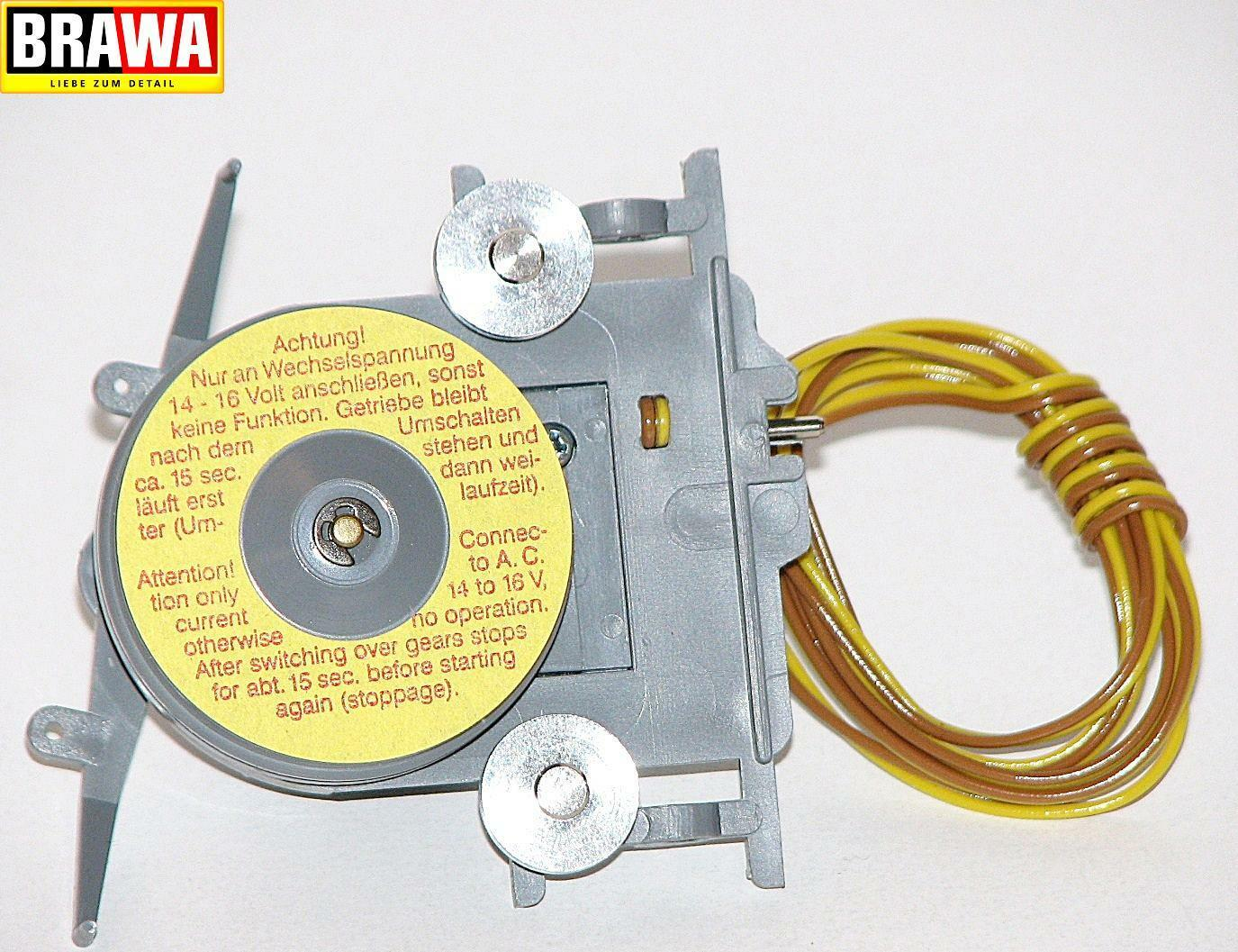 Brawa H0 6253 Cable Car Head Piece for Mountain Station with Motor - New +Box