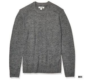 Goodthreads Mens Lambswool Crewneck Sweater