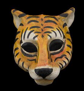 Mask Venetian Tiger IN Paper Mache Fancy Dress Collection GT4 1727