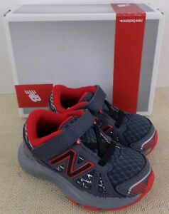 Details about NEW BALANCE KV690SGI INFANT BOY'S RED GRAY ATHLETIC SNEAKERS NEW IN BOX