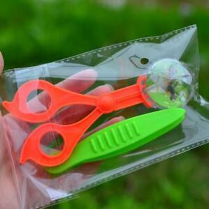 Bug-Insect-Catcher-Scissors-Tongs-amp-Tweezers-for-Kids-Science-Explore-Toys-LI