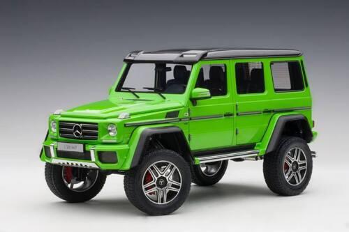 Mercedes Benz G-Class G500 4X4 2 2015 Alien Green AUTOART 1:18 AA76315