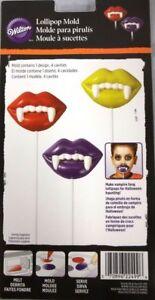 Halloween Vampire Teeth Lollipop Candy//Chocolate Mold by Celebrate It