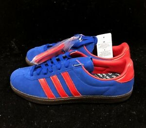 info for b850b df9ee Image is loading Adidas-Spritus-SPZL-Spezial-Royal-Blue-Scarlet-Red-