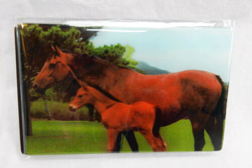 3D Mare and Foal Magnet Horse Fridge Magnet
