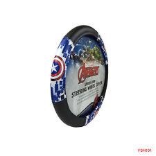 New Plasticolor Captain America Car Truck Suv Van Boat Steering Wheel Cover