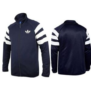 Adidas Originals Trefoil Lc Tt Legend Ink Zip Up Mens Track Top