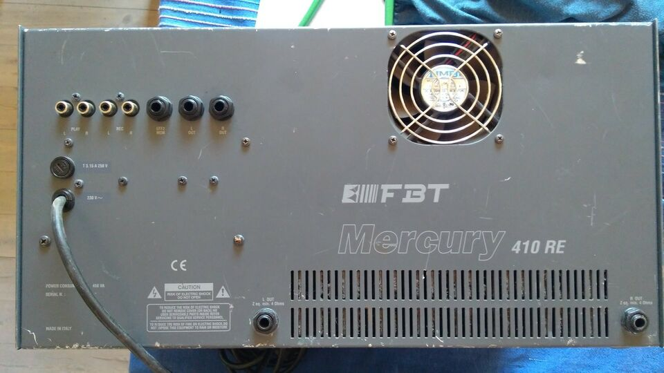 Powermixer, FBT 410 RE Mercury