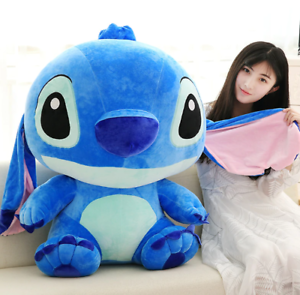 60CM Giant Large Big Lilo Stitch Stuffed animals Plush Baby Soft Toys Doll gift Plush Baby Toys