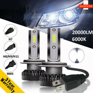 110W-20000LM-Car-LED-Headlight-Bulb-H1-H4-H7-H8-H9-H11-9005-9006-Kit-Xenon-White