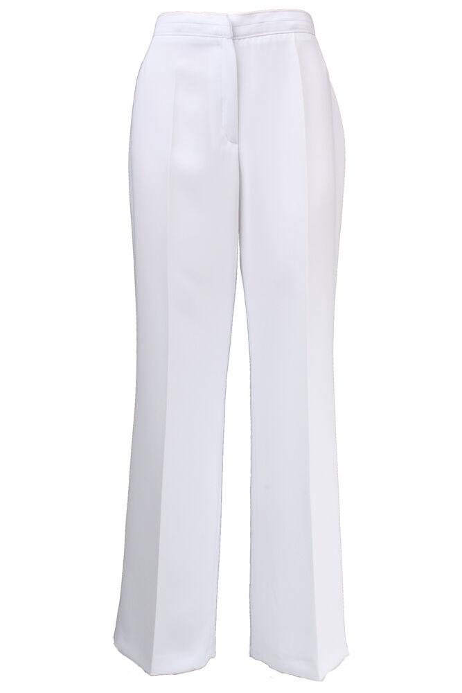 Busy Blanc Smart Femmes Pantalon