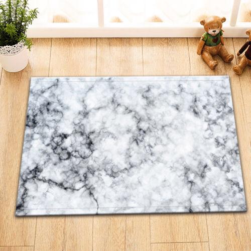 "Marble Style 24x16/"" Kitchen Bathroom Shower Non-Slip Bath Door Mat Rugs Carpet"