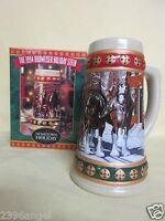 Budweiser 1994 ' Hometown Holidays ' Holiday Stein / Mug