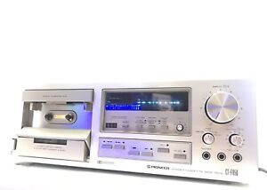 PIONEER-CT-F850-2-Motor-3-Head-High-End-Stereo-Cassette-Vintage-1979-Like-New