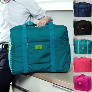 New Foldable Large duffel Bag Luggage Storage Waterproof Travel Pouch Tote Bag