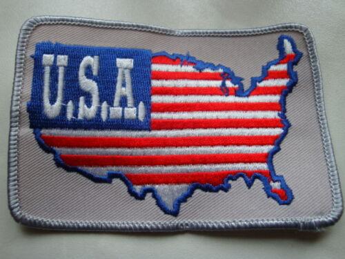 États-Unis//Amérique écusson//patch-pays Contours