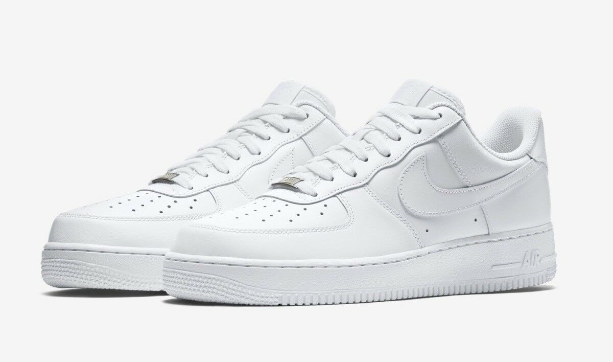 Men's shoes Air Force 1 '07 White White style 315122-111 Size 10.5 Free Ship