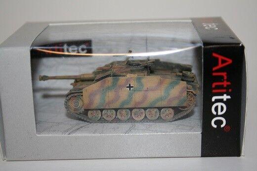 Artitec 387.48-cm - 1 87   H0 WWII Dt. Stug III Ausf.G (1943) - Camouflage - Neu  | Toy Story