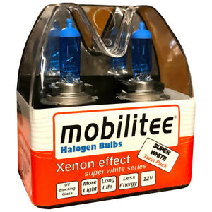 Mobilitee-H7-Xenon-Look-Automotive-Bulbs-Super-White-Red-Label-pxd26-12V-55W