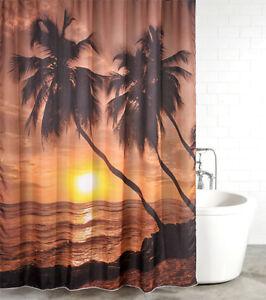 duschvorhang textil anti schimmel effekt badewannenvorhang. Black Bedroom Furniture Sets. Home Design Ideas