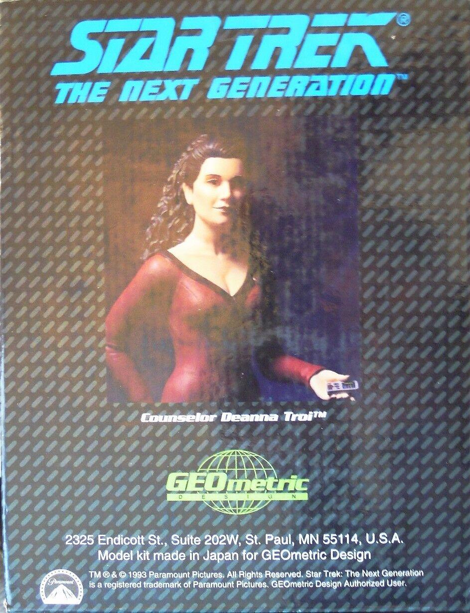 Stern Trek Figur Counselor Deanna Troi von GEOmetric Design in 1 6, N E U & OVP